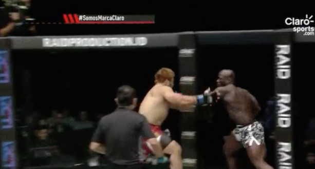 Checkout This 11 Second MMA Knockout