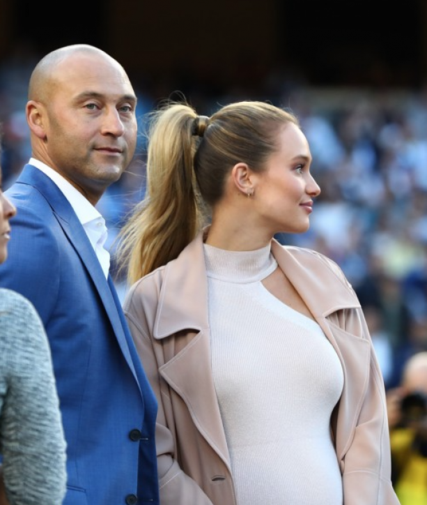 Derek & Hannah Jeter Leading Separate Lives After Baby?