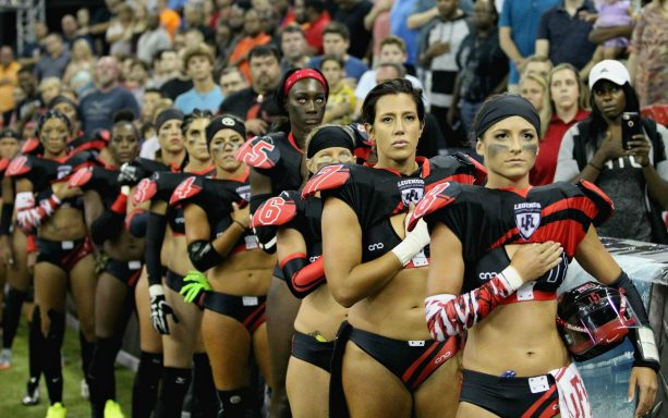 Lingerie Football League Takes a Very Different Stance than the NFL