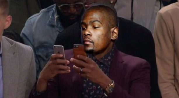 WE Found Kevin Durant's Private Instagram Account