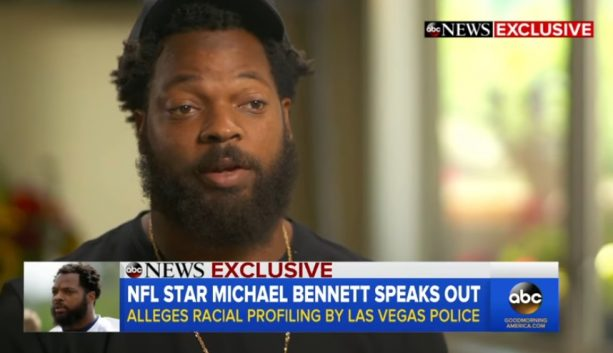Michael Bennett Does Nightline Interview Explaining How Police Profiled Him