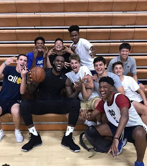 LeBron James Spotted Checking out Los Angeles Area High Schools for his Sons