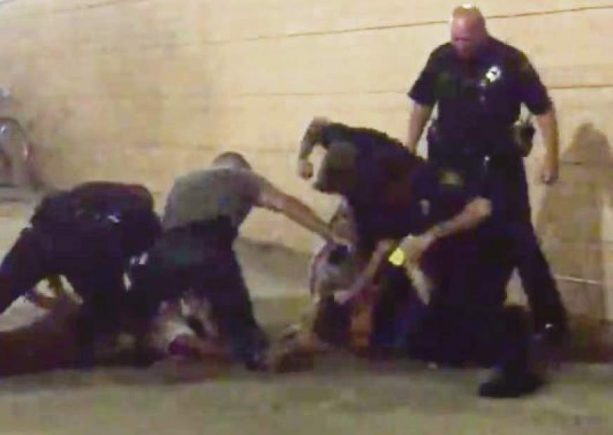 Video Shows Police Punching a Man Outside the Penguins' Arena