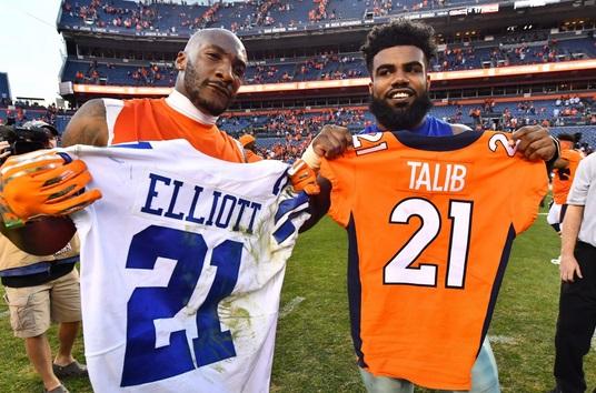 Ezekiel Elliott Showed His True Colors by Quitting on America's Team