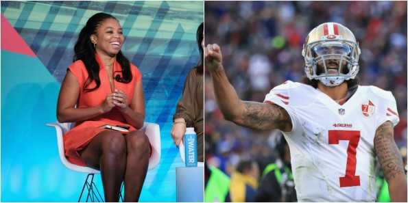 Colin Kaepernick Stands up for Jemele Hill; ESPN Throws Her Under the Bus