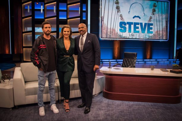 Scott Disick Gives Tristan Thompson his Stamp of Approval on Steve Harvey