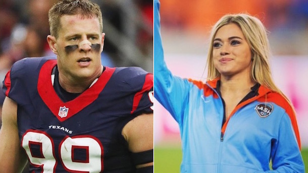 JJ Watt's Girlfriend Voted to the Executive Board