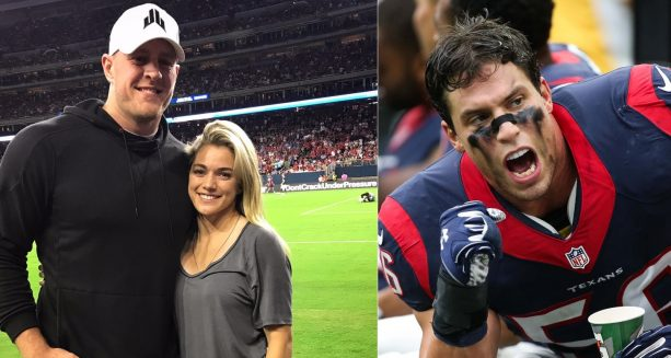 Appears JJ Watt fans Still don't like his Girlfriend Just as Much as Texans Fans Don't Like her Brother in Law