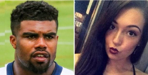 Ezekiel Elliott Said Tiffany Thompson Taunted Him with Screengrabs of Her Texts with a Teammate