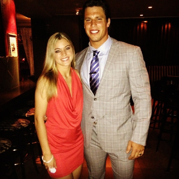 JJ Watt's Girlfriend Supports Brother-in-Law
