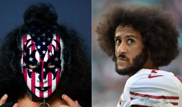 Gene Simmons Says Colin Kaepernick Has the Right to not Give the Flag the Respect it Deserves