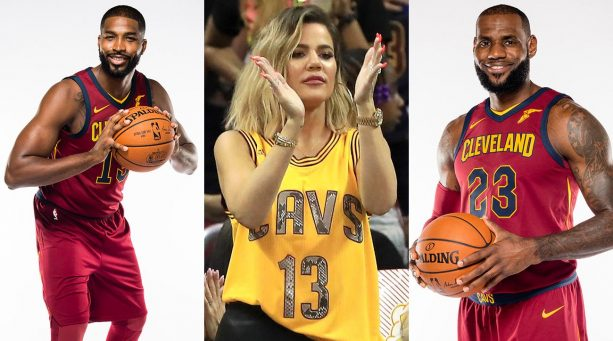 Tweets About LeBron's Reaction to Khloe Kardashian's Pregnancy Were Spectacular