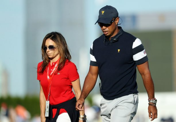 Who is the mystery woman with Tiger Woods