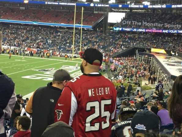 Atlanta Falcons Fans Troll Themselves