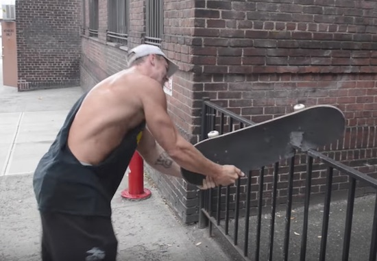 """A Look at Weckingball, the Self-Proclaimed """"Most Jacked Skater"""""""