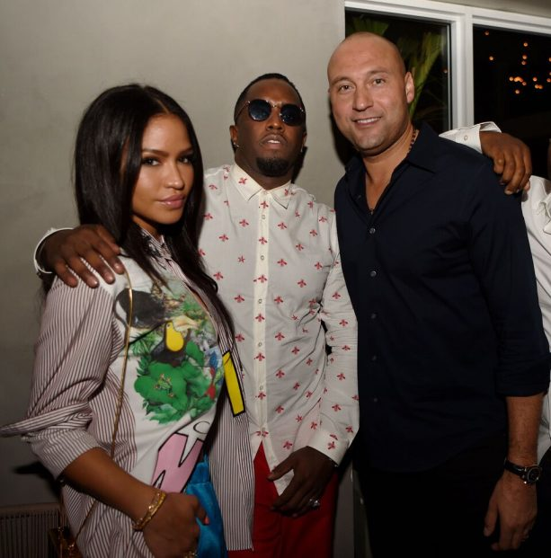 Derek Jeter welcomed to Miami with Star-Studded Dinner hosted by Puff Daddy