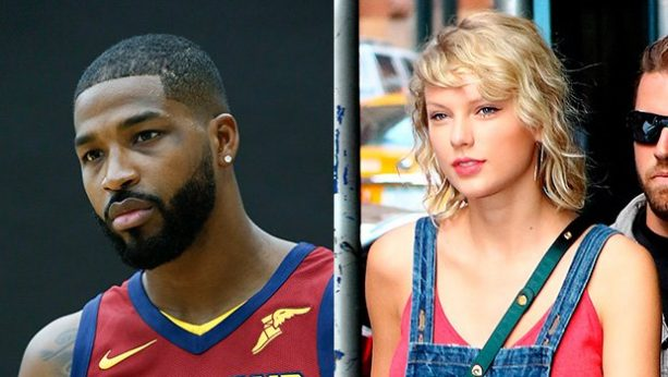 Tristan Thompson Says He Gets Hyped to Kardashian Enemy Taylor Swift