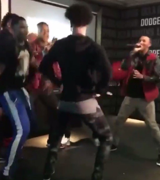Lonzo Ball Gets Turnt for his 20th birthday, rapping & having fun with his Friends