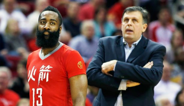 James Harden says Kevin McHale is a 'Clown'