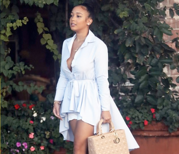 Tristan Thompson's Baby Momma Spotted Out In Los Angeles