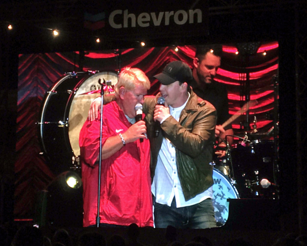 John Daly Singing Tom Petty With Gavin DeGraw