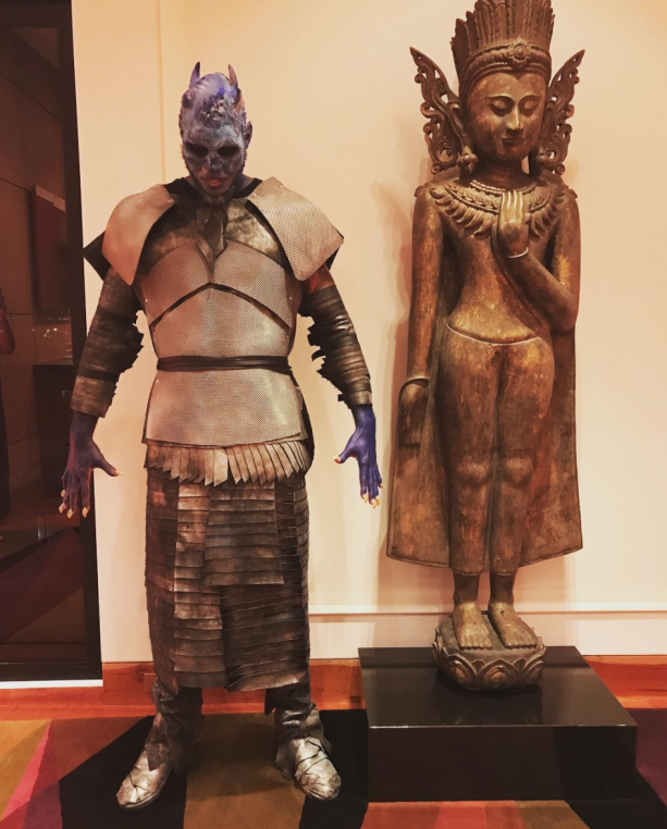 Carmelo Anthony Is Ready For Halloween