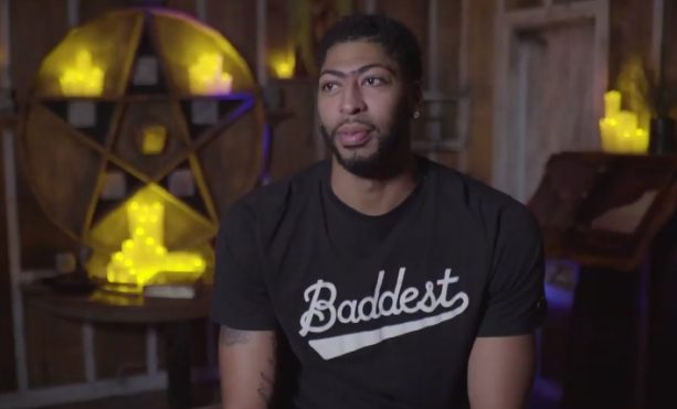 Anthony Davis and DeMarcus Cousins Visit a Haunted House