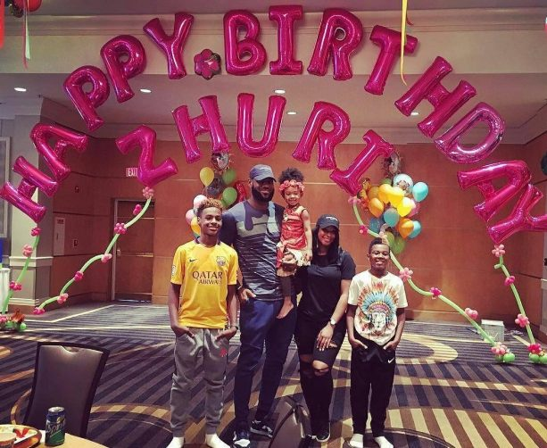 LeBron & Savannah James throw amazing B-Day party for Zhuri, buy her a Pet Pig