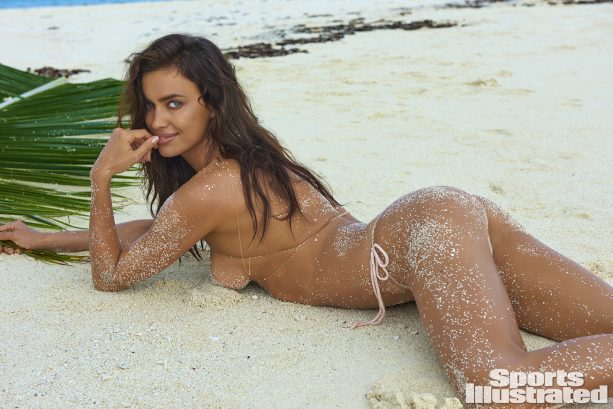 Irina Shayk Takes It off & Celebrates 10 Years In Tahiti