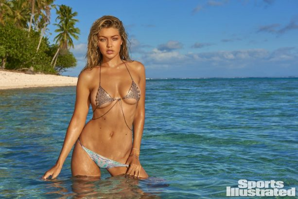 Gigi Hadid Takes You To Her Wet, Tahitian Paradise