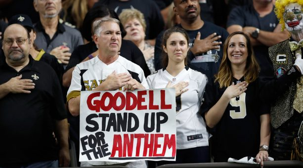NFL Players who Protested During National Anthem in Week 6