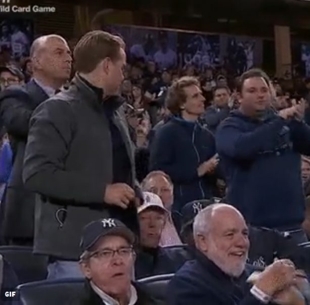 This Yankees Fan Obnoxiously Clapping is So Yankee