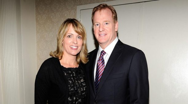 The NFL Commissioner's Wife Has a Twitter Secret