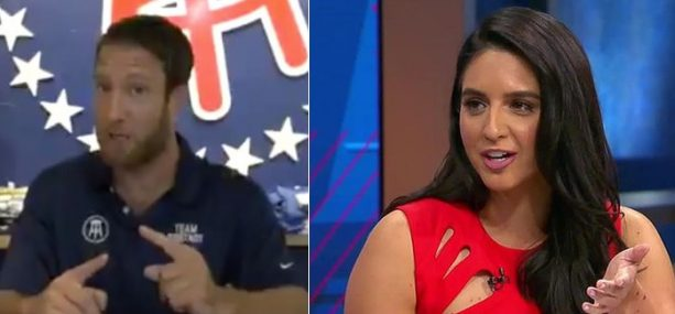 Barstool Sports and Fox Sports college football Host Duke It out Online