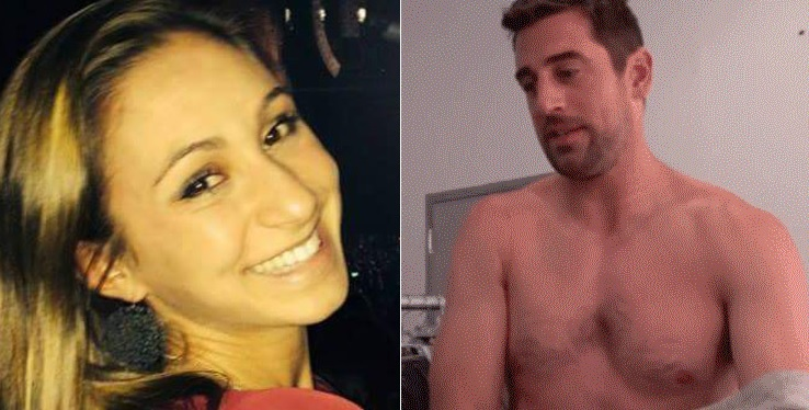 Report: Aaron Rodgers Girlfriend Taking Care of Aaron The Only Way She Knows How