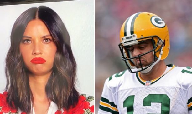 Report: Olivia Munn Reached out to Aaron Rodgers