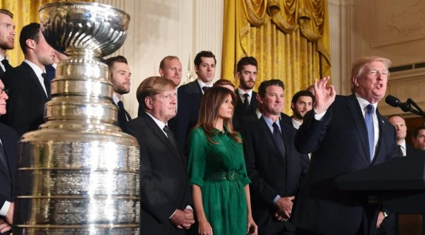 A Sports Team Actually visited the White House but no One Really Reported On It