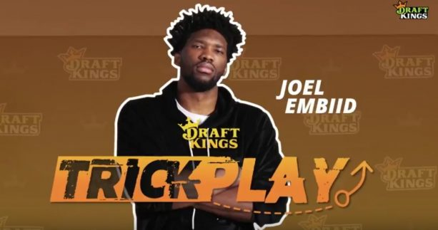 Joel Embiid Plays Epic Prank on Sixers Fans