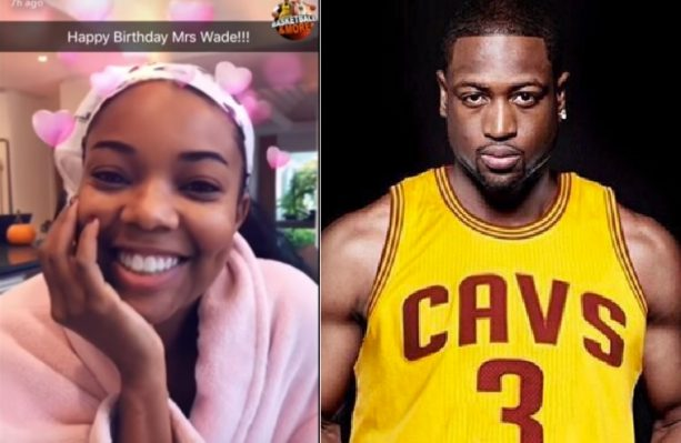 D-Wade Celebrates his Old Lady's 45th Birthday
