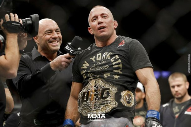Georges ST-Pierre Gives His UFC Title Away