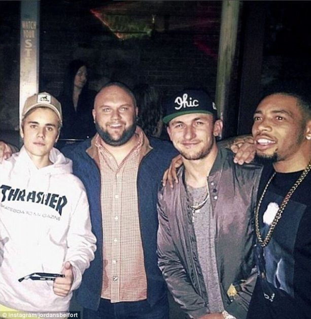 Johnny Manziel Pictured with Suspected at Large Woman Beater?