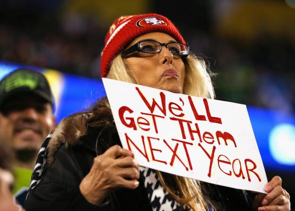 San Francisco 49ers Fans Get 0-16 Tattoos