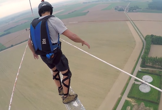 Plank of Death: Scariest BASE JUMP Exit Ever?