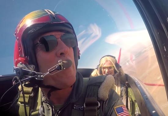 Female Pilot Surprises Flight Instructor