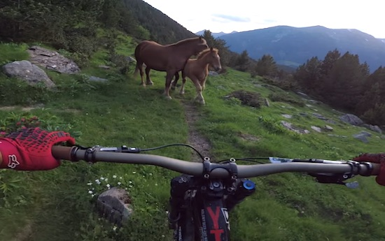 Heli Mountain Biking with the Lacondeguy Brothers in Andorra