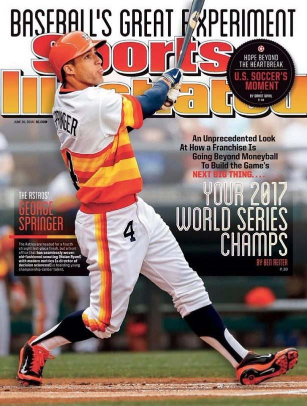 Sports Illustrated Not Only Picked The Astros, They Got The MVP On The Cover