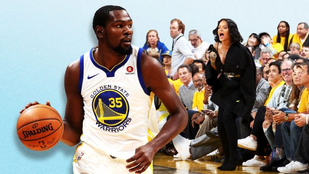 Kevin Durant finally Talks about Rihanna Heckling him During the NBA Finals