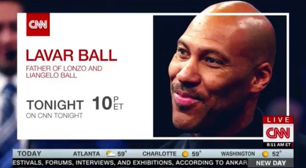 LaVar Ball Is Going To Be On CNN Tonight