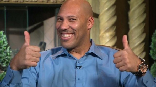 Guess how much in Ad Value Donald Trump Gave to Lavar Ball