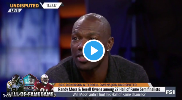 Terrell Owens Hating On Randy Moss?